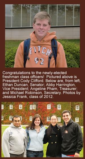 Freshamn Class Officers