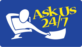 Logo for Ask Us 24/7
