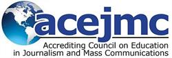 Logo for the Accrediting Council on Education in Journalism and Mass Communication