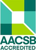 Logo of the accrediting association AACSB