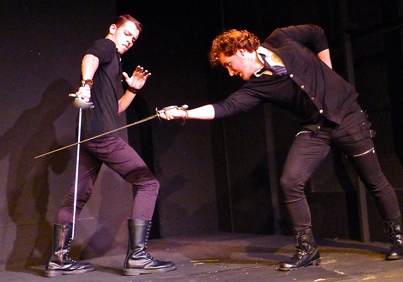 Duel with Laertes
