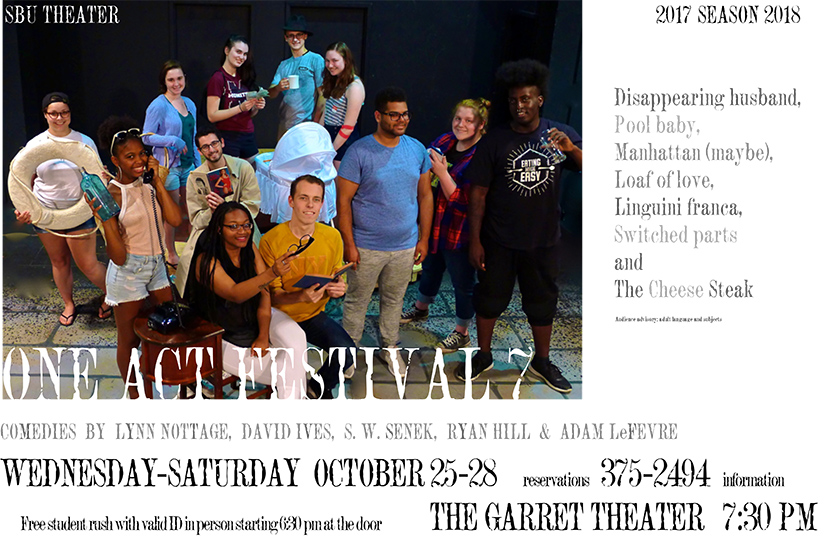 One Acts 7 Poster