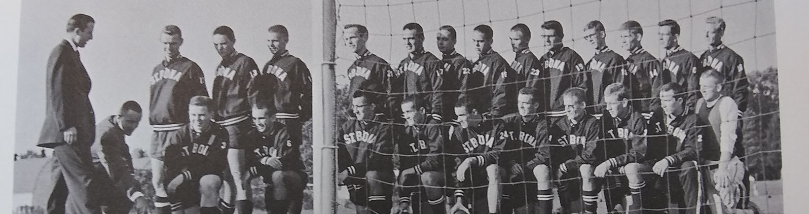 Pictured_The Bennett brothers at far right, in back row